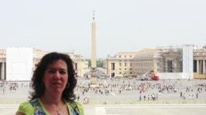 En Roma. 2013.
