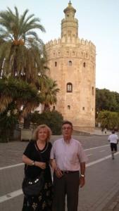 Luis y Mari Carmen, padres de la autora.