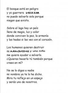"""Poema """"Misin"""", de María Luisa Víu."""