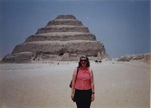 Macarena, en Saqqara.