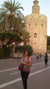 En la Torre del Oro.