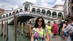 En el Ponte Rialto, Venecia. 2013.