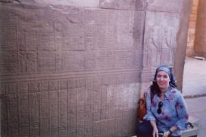 En Egipto.